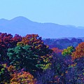 Lovely Asheville Fall Mountains by Ray Mapp