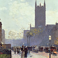 Lower Fifth Avenue by Childe Hassam