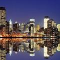 Lower Manhattan Skyline by Sean Pavone