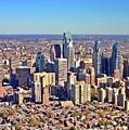 Lrg Format Aerial Philadelphia Skyline 226 W Rittenhouse Sq 100 Philadelphia Pa 19103 5738 by Duncan Pearson