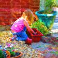 Lucys English Garden by Marilyn Sholin