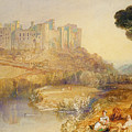 Ludlow Castle  by Joseph Mallord William Turner
