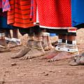 Maasai Feet by Adam Romanowicz