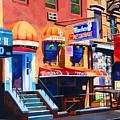 Macdougal Street by John Tartaglione