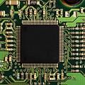 Macro Image Of A Hard Disk Controller by Yali Shi
