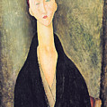 Madame Hanka Zborowska by Amedeo Modigliani