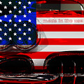Made In The Usa . Chevy Corvette by Wingsdomain Art and Photography