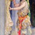 Mademoiselle Fleury In Algerian Costume by Pierre Auguste Renoir