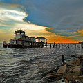 Madisonville Katrina Ghost Boat  by Luana K Perez