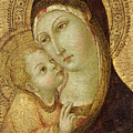 Madonna And Child by Ansano di Pietro di Mencio