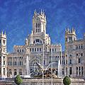 Madrid City Hall by Joan Carroll