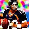 Magical Peyton Manning Borncos by Paul Van Scott