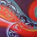 Magical Wave Fire by Reina Cottier