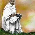 Mahatma Ghandi by C A Soto Aguirre
