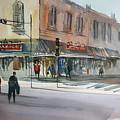 Main Street Marketplace - Waupaca Print by Ryan Radke