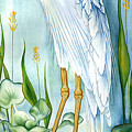 Majestic White Heron by Lyse Anthony