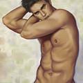Male Nude 1 by Simon Sturge