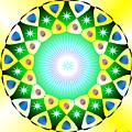 Mandala - Healing The Heart by Konstadina Sadoriniou - Adhen