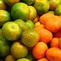 Mandarins And Tangerines by Yali Shi
