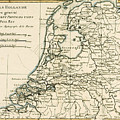 Map Of Holland Including The Seven United Provinces Of The Low Countries by Guillaume Raynal