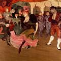 Marcelle Lender Dancing The Bolero In Chilperic by Henri de Toulouse Lautrec