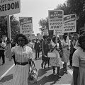 March On Washington. African Americans by Everett