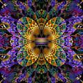 Mardi Gras Split Crop by Peggi Wolfe