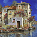 mareblu' Print by Guido Borelli