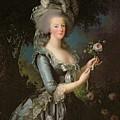 Marie Antoinette by Elisabeth Louise Vigee Lebrun