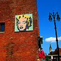 Marilyn Monroe In Detroit by Guy Ricketts