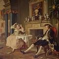 Marriage A La Mode II The Tete A Tete by William Hogarth