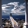 Marshall Point Lighthouse Maine by Skip Willits
