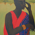 Masaii Warrior by Renee Kahn