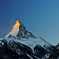 Matterhorn Switzerland Sunrise by Maria Swärd