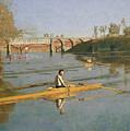Max Schmitt In A Single Scull by Thomas Cowperthwait Eakins