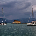 Yachts in Nafplio, Greece
