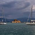 Yachts in Nafplio, Greece