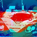 Mazda Le Mans Print by Naxart Studio