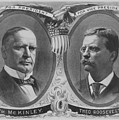 Mckinley And Roosevelt Election Poster by War Is Hell Store