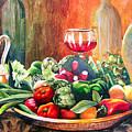 Mediterranean Table by Karen Stark