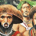 Men From New Guinea by Judy Swerlick