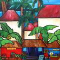 Mercado En Puerto Rico by Patti Schermerhorn
