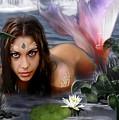 Mermaid Lagoon by Crispin  Delgado