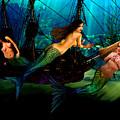 Mermaid Shipwreck  by Tray Mead
