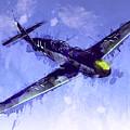 Messerschmitt Bf 109 by Michael Tompsett