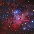 Messier 16, The Eagle Nebula In Serpens by Robert Gendler