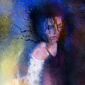 Michael Jackson 16 Print by Miki De Goodaboom