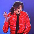 Michael Jackson 2 by Paul Meijering