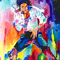 Michael Jackson Wind by David Lloyd Glover