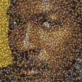 Michael Jordan Money Mosaic by Paul Van Scott